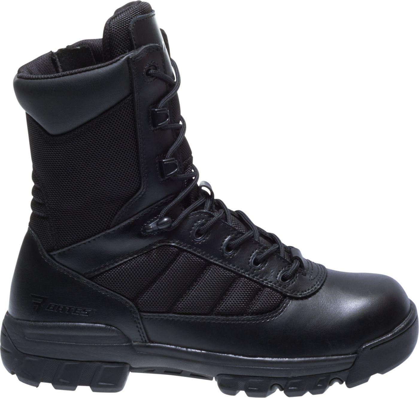 Bates Women's Tactical Sport 8'' Size Zip Work Boots