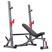 Body Champ Olympic Weight Bench And Accessories