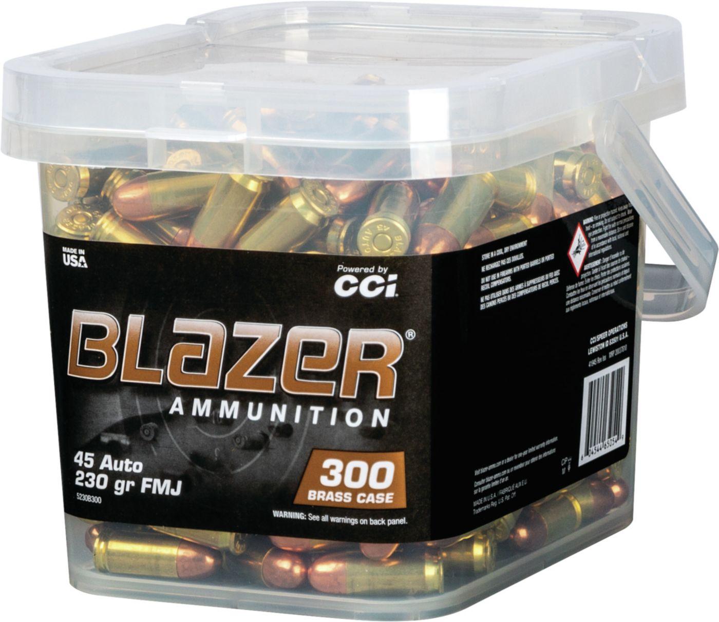 Blazer Brass Handgun Ammo – 300 Rounds