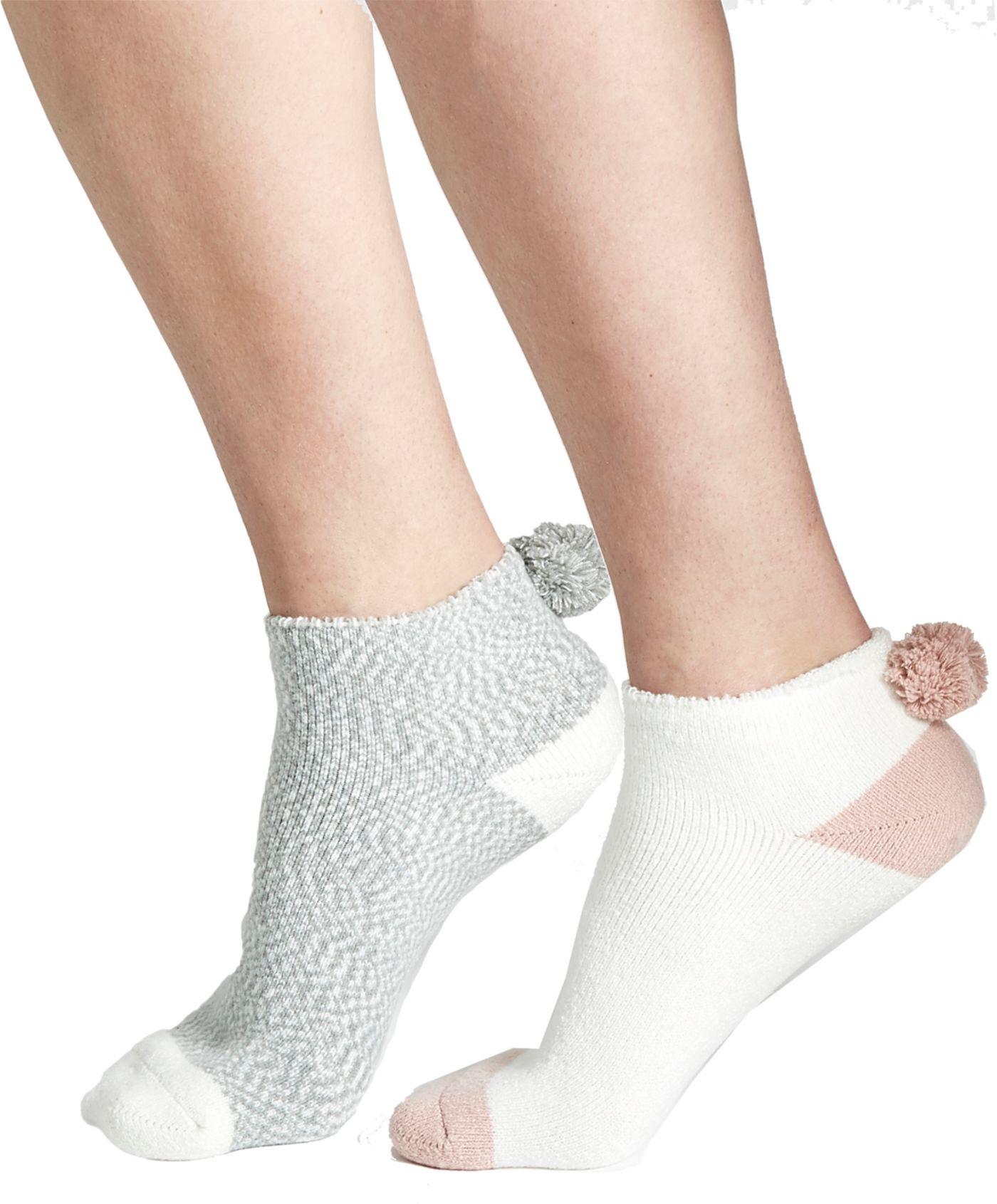 CALIA by Carrie Underwood Pom Footie Socks - 2 Pack