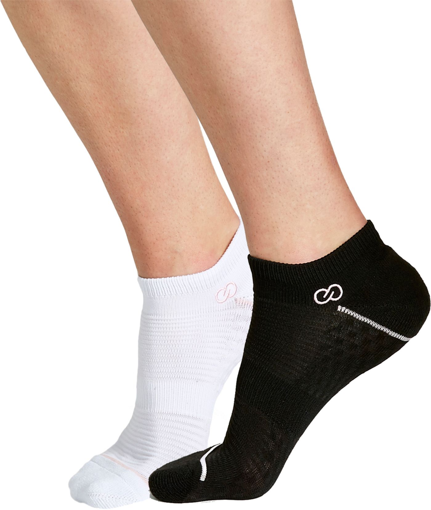 CALIA by Carrie Underwood Texture Trainer No Show Socks 2 Pack