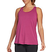 CALIA by Carrie Underwood Women's Crossed Back Tank Top