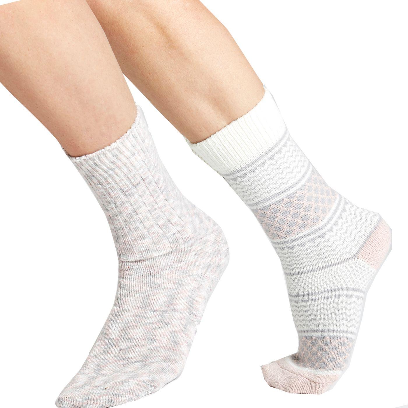 CALIA by Carrie Underwood Nordic Crew Socks 2 Pack