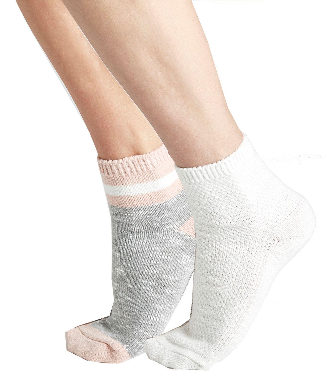CALIA by Carrie Underwood Effortless Quarter Socks - 2 Pack