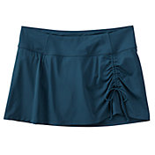 CALIA by Carrie Underwood Women's Ruched Swim Skirt