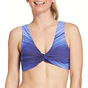 CALIA by Carrie Underwood Women's Reversible Knot Bikini Top
