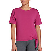 CALIA by Carrie Underwood Women's Side Tie T-Shirt