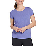 CALIA by Carrie Underwood Women's Drape Back Scoop Neck T-Shirt