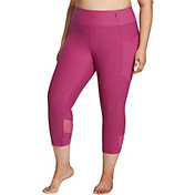 CALIA by Carrie Underwood Women's Plus Size Essential Mesh Capris