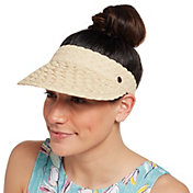 CALIA by Carrie Underwood Women's Straw Visor