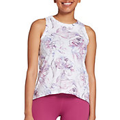 CALIA by Carrie Underwood Women's Everyday High Neck Muscle Tank Top (Regular and Plus)