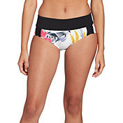 CALIA by Carrie Underwood Women's Weave Boy Short Swim Bottoms