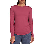 CALIA by Carrie Underwood Women's Flow Ruched Long Sleeve Shirt