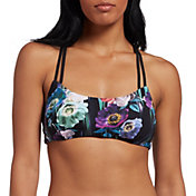 CALIA by Carrie Underwood Women's Double Strap Bikini Top