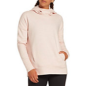 CALIA by Carrie Underwood Women's Effortless Velour Back Fleece Hoodie