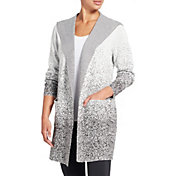 CALIA by Carrie Underwood Women's Journey Hooded Duster Cardigan