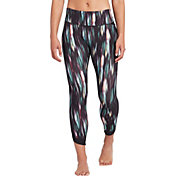 CALIA by Carrie Underwood Women's Energize Printed Tulip Hem 7/8 Leggings