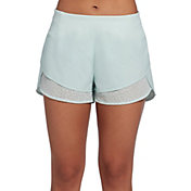 CALIA by Carrie Underwood Women's Anywhere Lace Petal Hem Shorts