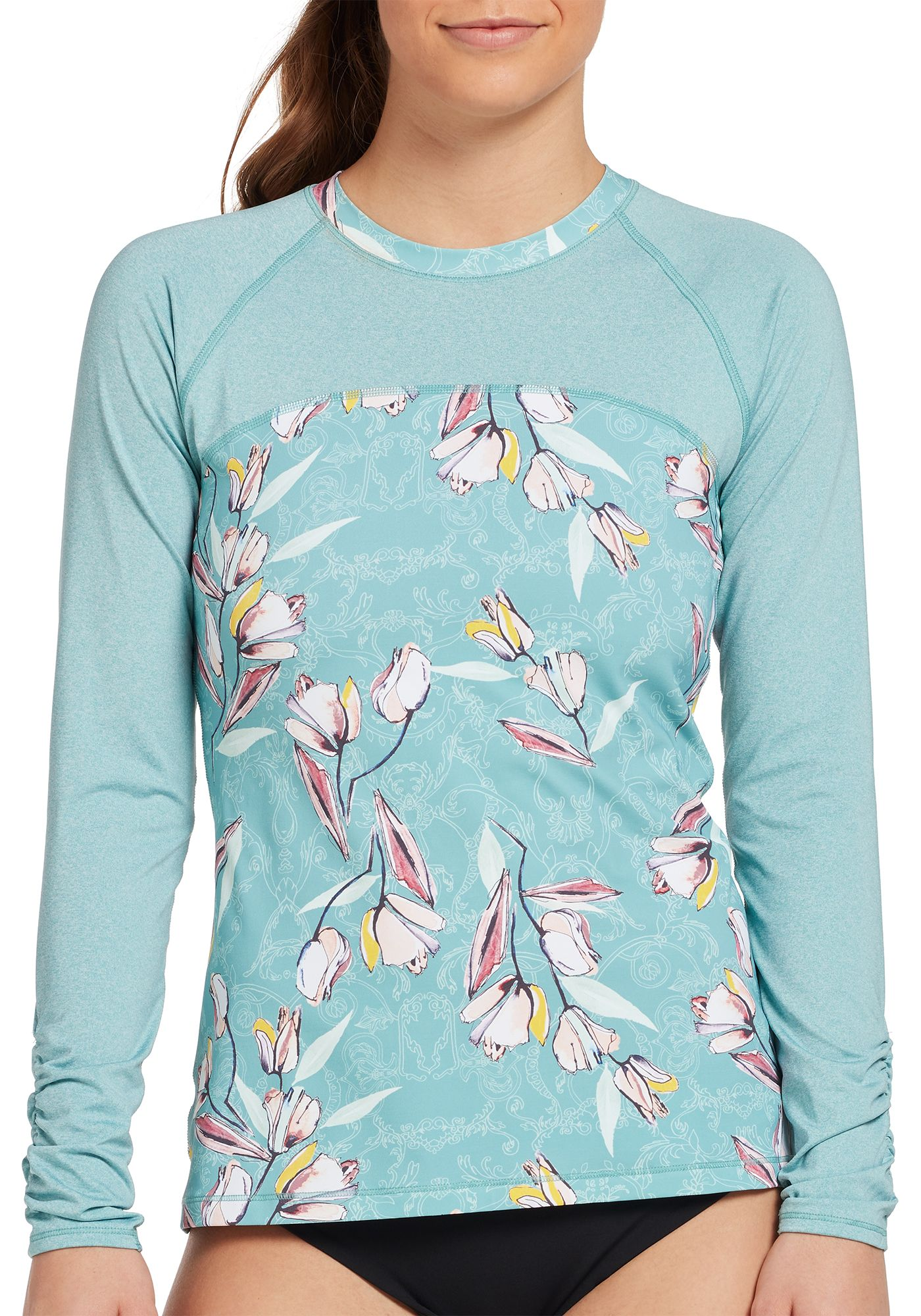 CALIA by Carrie Underwood Women's Long Sleeve Rash Guard