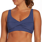 CALIA by Carrie Underwood Women's Twist Front Bikini Top
