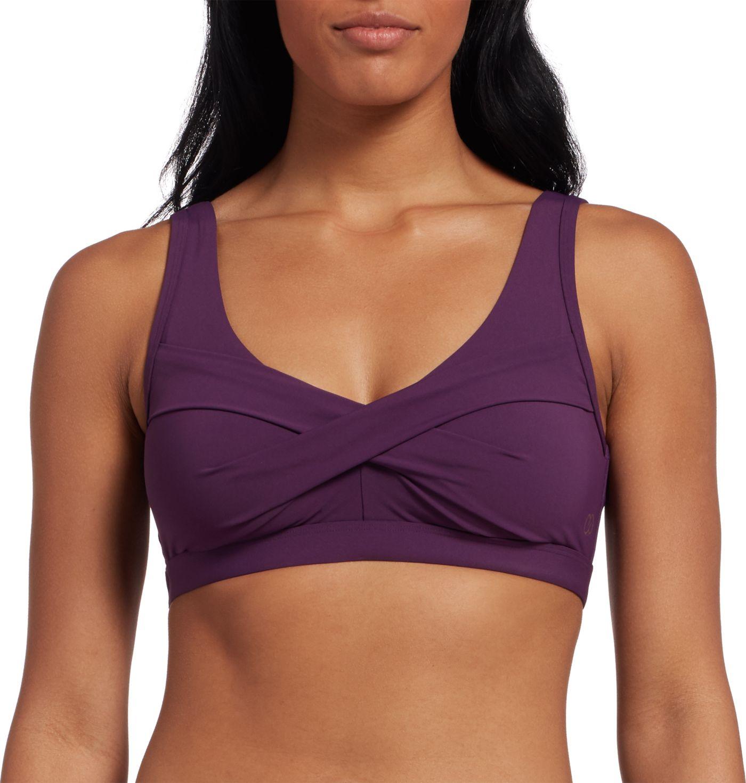 CALIA by Carrie Underwood Women's Twist Front Bikini Top