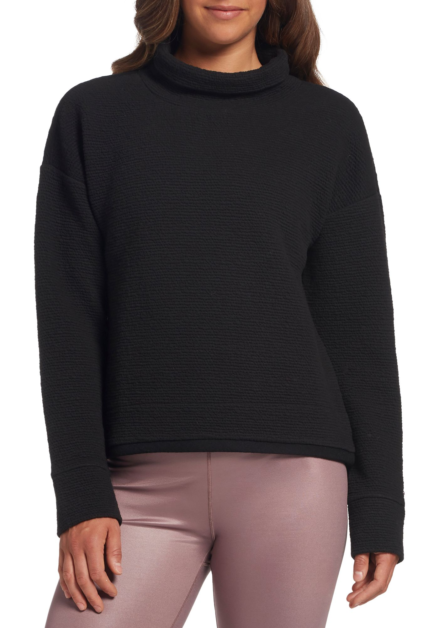 CALIA by Carrie Underwood Women's Cloud Funnel Neck Pullover