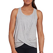CALIA by Carrie Underwood Women's Flow Wrap Front Tank Top