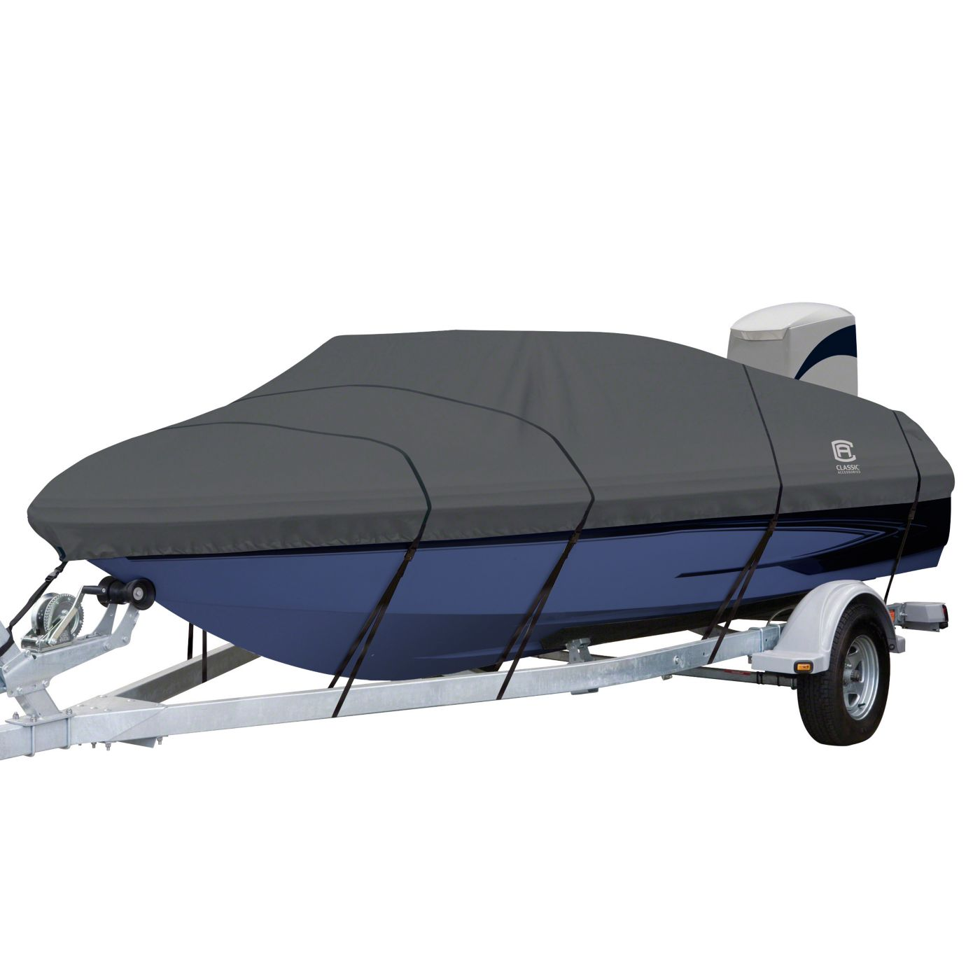 Classic Accessories StormPro V-Hull Boat Cover