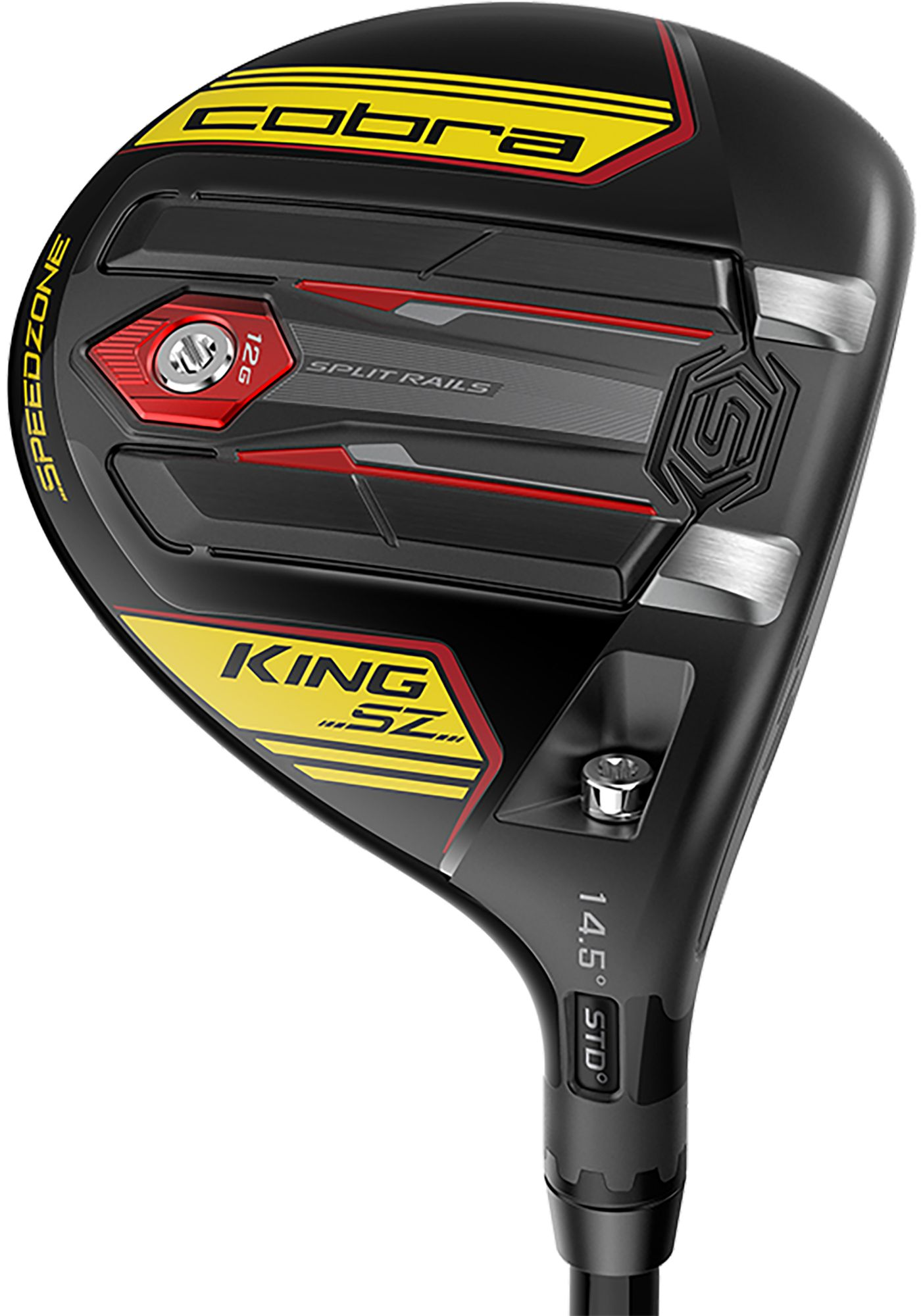 Cobra KING Speedzone Fairway Wood – Black/Yellow