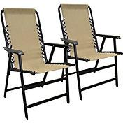 Caravan Sports Suspension Folding Chair 2-Pack