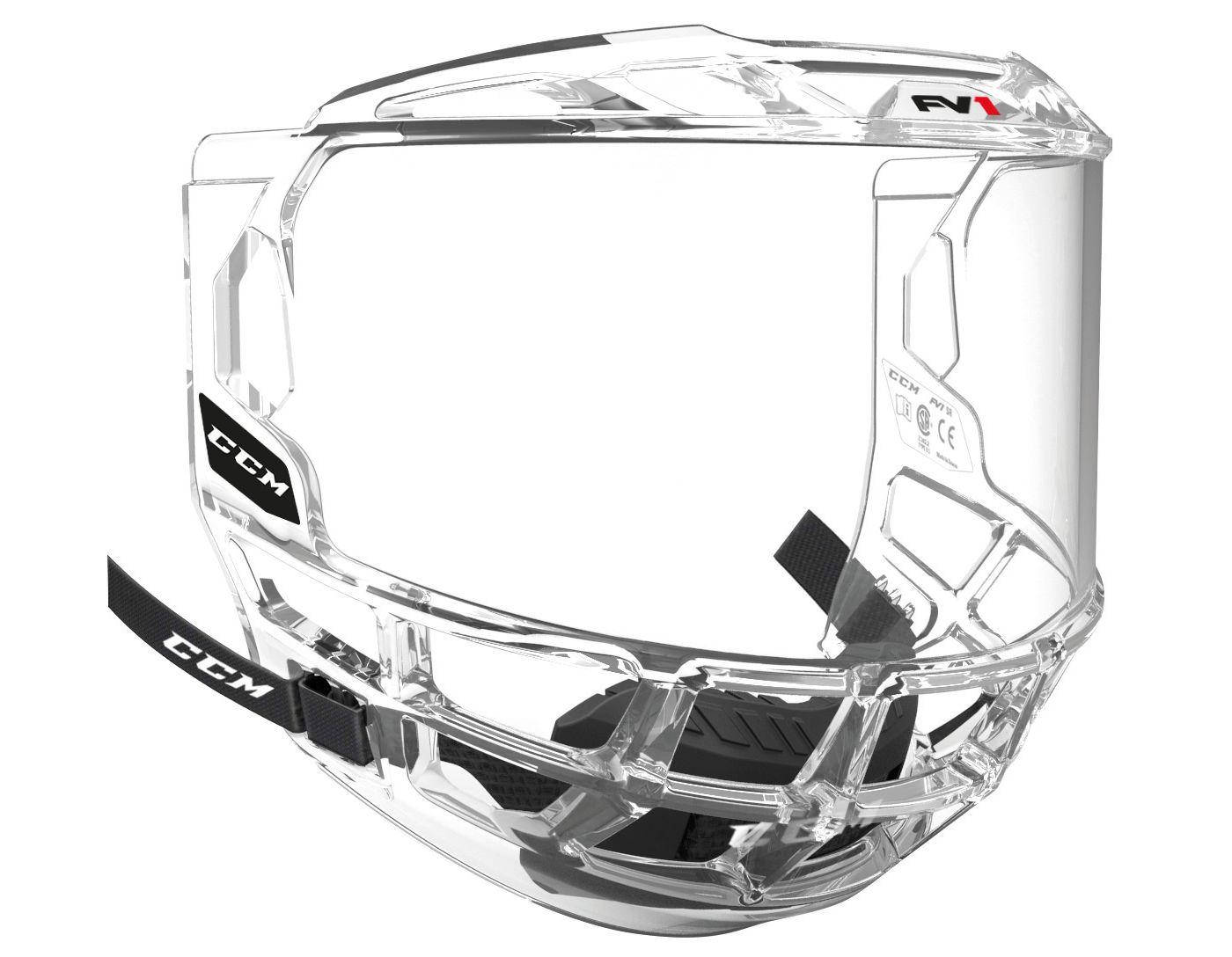 CCM Senior FVI Full Hockey Visor