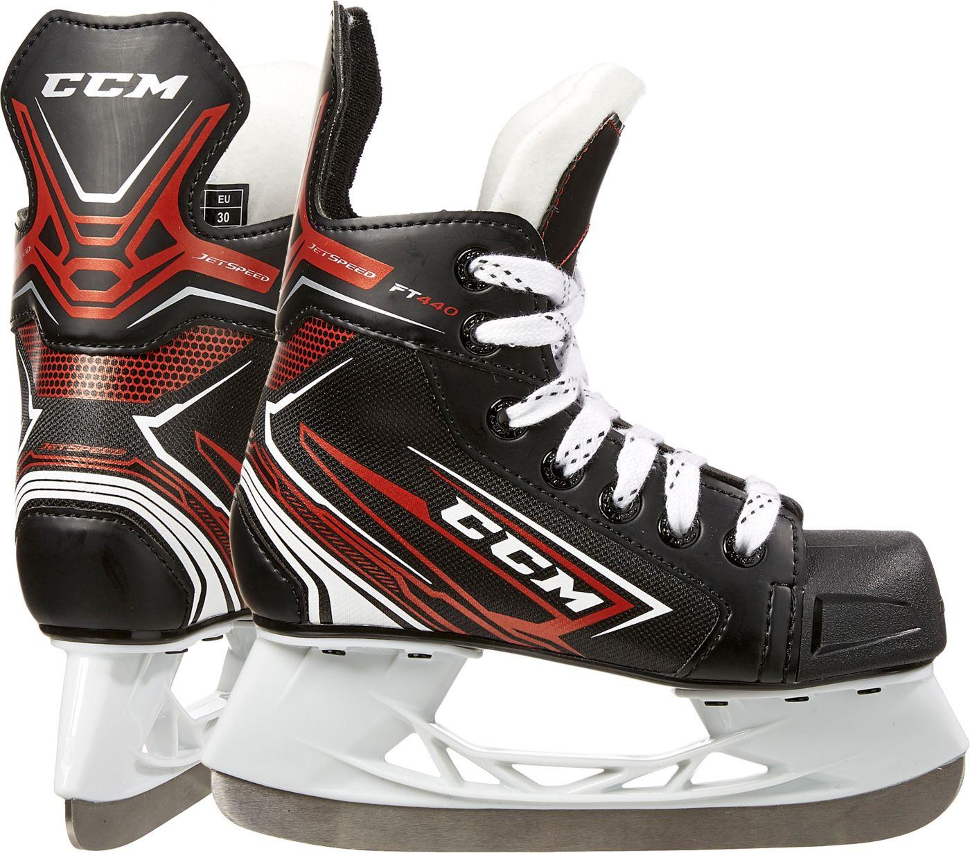 CCM Junior Jet Speed SK440 Ice Hockey Skates