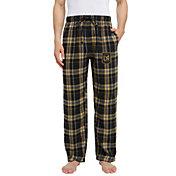 Concepts Sport Men's Los Angeles FC Hillstone Black Flannel Pants