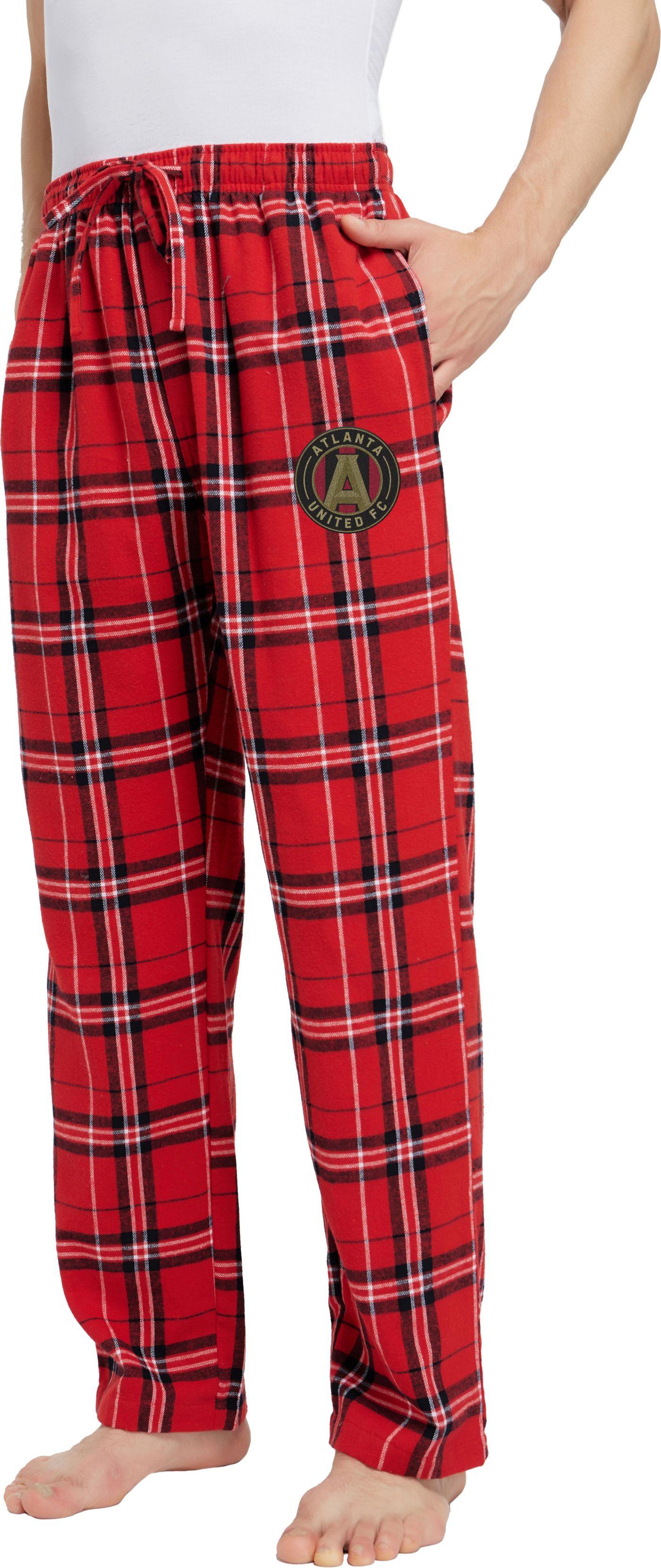 Concepts Sport Men's Atlanta United Hillstone Red Flannel Pants