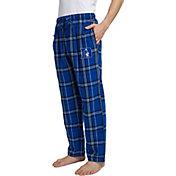 Concepts Sport Men's Duke Blue Devils Duke Blue/White Hillstone Flannel Sleep Pants