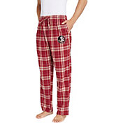 Concepts Sport Men's Florida State Seminoles Garnet/Gold Hillstone Flannel Sleep Pants
