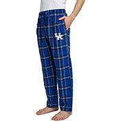 Concepts Sport Men's Kentucky Wildcats Blue/White Hillstone Flannel Sleep Pants