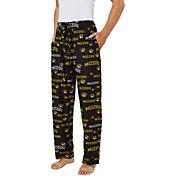 Concepts Sport Men's Missouri Tigers Fairway Sleep Black Pants