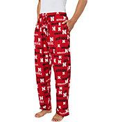Concepts Sport Men's Nebraska Cornhuskers Scarlet Fairway Sleep Pants