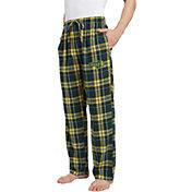 Concepts Sport Men's North Dakota State Bison Green/Yellow Hillstone Flannel Sleep Pants
