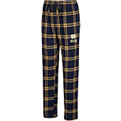 Concepts Sport Men's Notre Dame Fighting Irish Navy/Gold Hillstone Flannel Sleep Pants