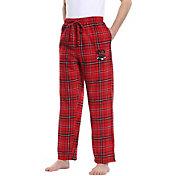 Concepts Sport Men's UNLV Rebels Scarlet/Black Hillstone Flannel Sleep Pants