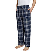 Concepts Sport Men's Penn State Nittany Lions Blue/White Hillstone Flannel Sleep Pants