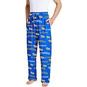 Concepts Sport Men's Pitt Panthers Blue Fairway Sleep Pants