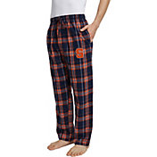 Concepts Sport Men's Syracuse Orange Blue/Orange Hillstone Flannel Sleep Pants