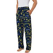 Concepts Sport Men's West Virginia Mountaineers Blue Fairway Sleep Pants