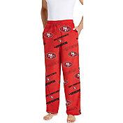 Concepts Sport Men's San Francisco 49ers Keystone Red Fleece Pants