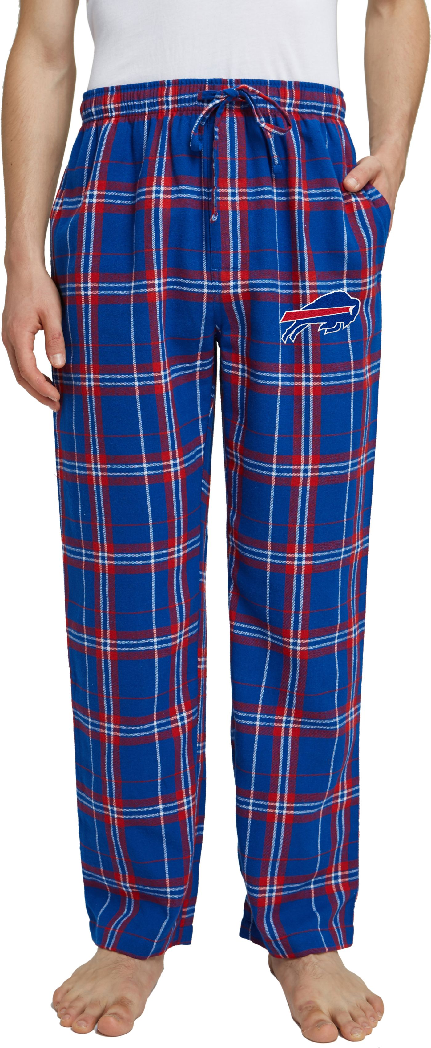 Concepts Sport Men's Buffalo Bills Hillstone Flannel Pants