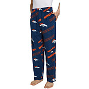 Concepts Sport Men's Denver Broncos Keystone Navy Fleece Pants