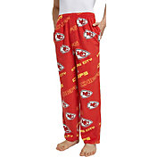 Concepts Sport Men's Kansas City Chiefs Keystone Red Fleece Pants